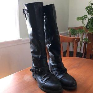 Women's Size 8 Knee-high Black Boots